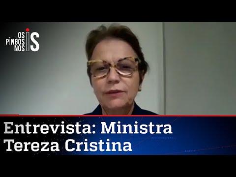 Exclusivo: Tereza Cristina em Os Pingos nos Is