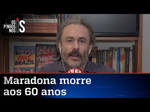 Fiuza: Posicionamento político de Maradona não é a manchete hoje