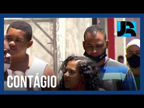 Reportagem flagra desrespeito à exigência do uso de máscara em São Paulo