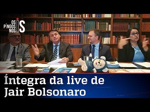 Íntegra da live de Jair Bolsonaro de 26/11/20