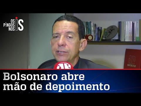 José Maria Trindade: Achar que Bolsonaro interferiu na PF é tese sem pé nem cabeça