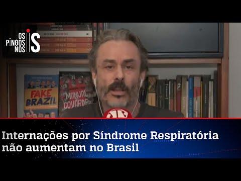 Fiuza: Levantamento sobre a pandemia desmente Doria