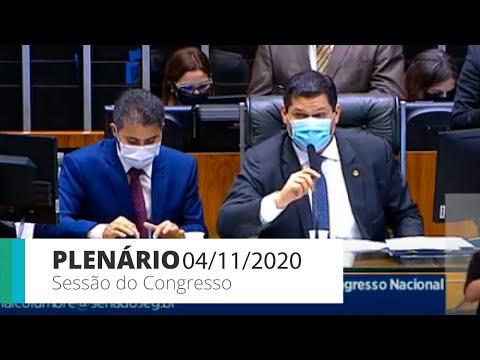 Sessão do CN – Câmara derruba veto à desoneração da folha para 17 setores até 2021 – 04/11/20 – 10h