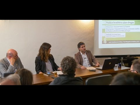 Diálogos Cebrap-Folha: Política brasileira sobre drogas