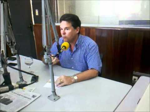 Presidente do PSD em PE dá entrevista à Rádio Folha