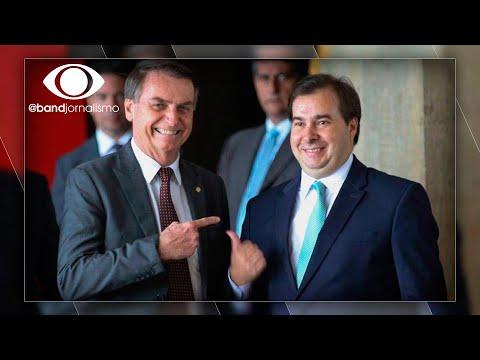 Sem 13º do Bolsa Família: Bolsonaro e Maia trocam acusações