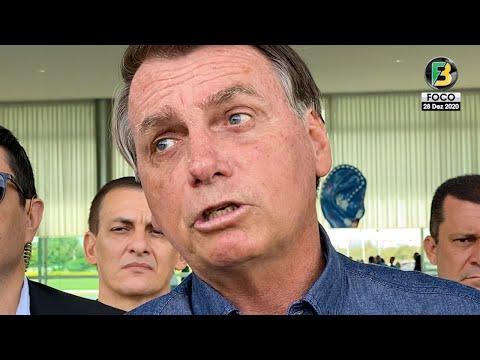 Bolsonaro fala sobre Vacinação, Pressão, Interferência, China, Mandetta, Adélio, PT, Futebol e mais