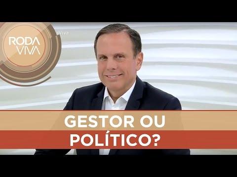 João Doria não se considera um político
