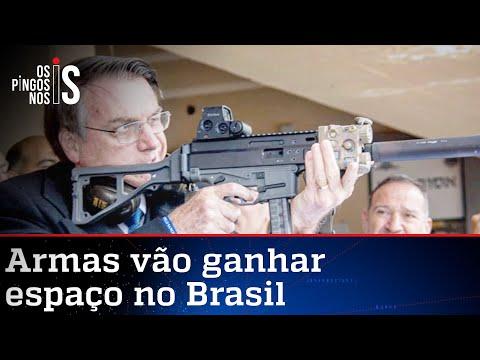 Bolsonaro promete novos decretos para armas