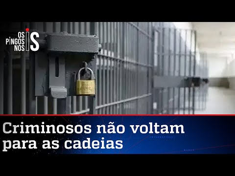 Quase 1.700 presos não voltam da saidinha de Natal