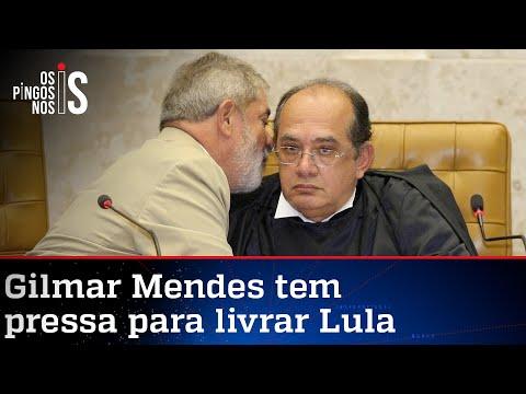 Gilmar arquiteta plano para colocar Lula na eleição