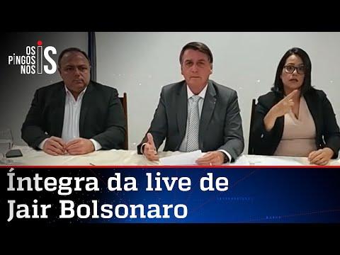 Íntegra da live de Jair Bolsonaro de 14/01/21