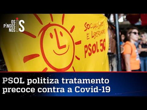 Bolsonaro critica PSOL por politizar tratamento precoce