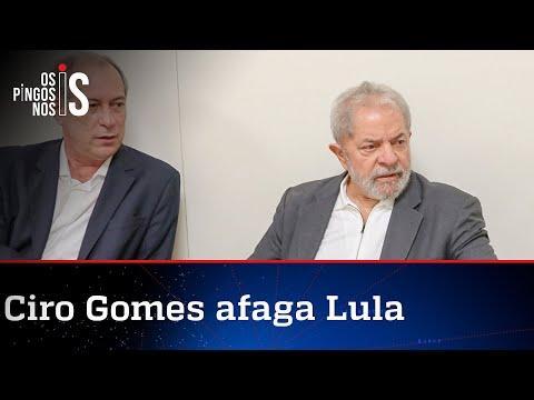 Ciro chama Lula de bondoso e não rechaça frente ampla em 2022