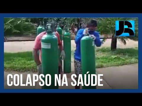 Cidade do Pará fica sem oxigênio e pelo menos seis pacientes teriam morrido por asfixia