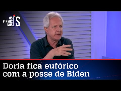 Augusto Nunes: Doria está brincando de presidente da República