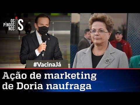 Doria toma fora de Dilma Rousseff