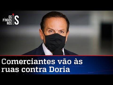 Doria amplia restrições e decide quebrar São Paulo