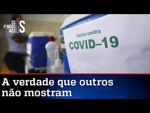 Brasil já está entre os 20 países que mais vacinaram