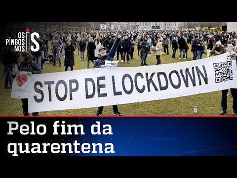 Itália e Holanda vão às ruas pela liberdade