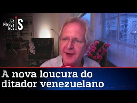 "Augusto Nunes: ""Gotitas milagrosas"" de Maduro são ridículas"