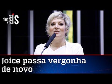 Joice compara Bolsonaro a Suzane von Richthofen e vira piada na web