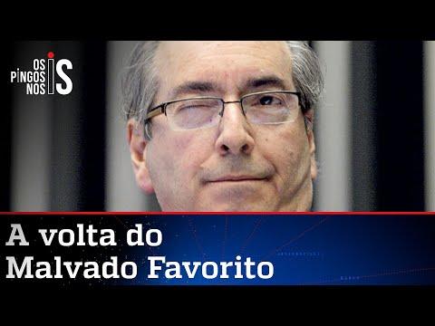 Cunha promete livro-bomba sobre o impeachment