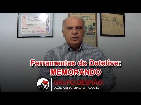 Ferramentas do Detetive Particular:  Memorando – Agência O Espião Detetive Particular em Goiânia