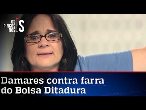 Damares enquadra oportunistas e acaba com farra do Bolsa Ditadura