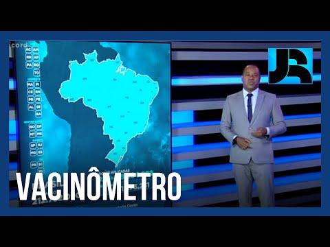 Vacinômetro: 2,83% dos brasileiros já receberam a primeira dose