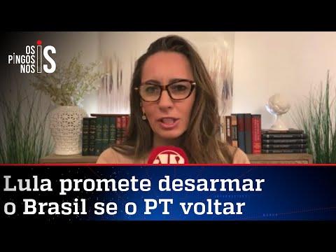 Ana Paula: Brasileiro de bem quer ter sua arma para proteger a família