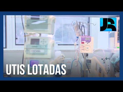 Porto Alegre registra mais de 100% dos leitos de UTI ocupados