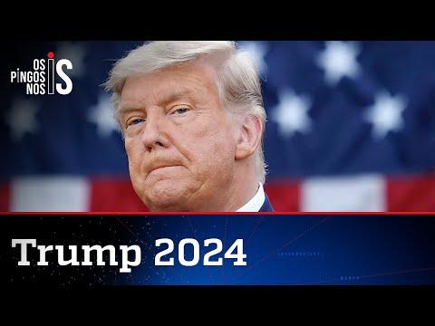 Trump sinaliza nova candidatura à Presidência em 2024