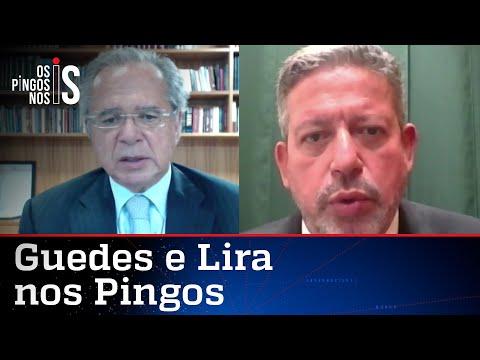 EXCLUSIVO: Entrevista com Paulo Guedes e Arthur Lira em Os Pingos nos Is