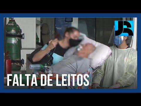 Em Santa Catarina, 16 pacientes com covid morrem à espera de internação