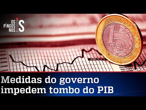 Brasil tem uma das menores quedas no PIB do mundo durante a pandemia