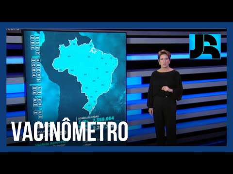 Vacinômetro: 3,48% dos brasileiros já receberam a primeira dose