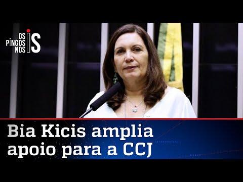 Bia Kicis está mais perto do comando da CCJ