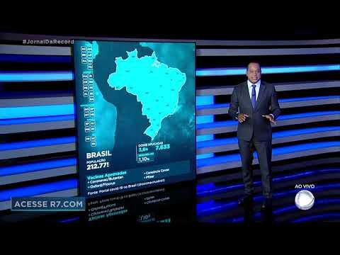 Vacinômetro: 7.633.263 brasileiros já receberam a primeira dose