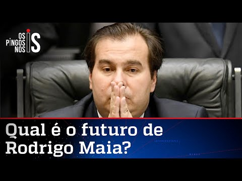 Desprestigiado no DEM, Rodrigo Maia deve ir para o MDB