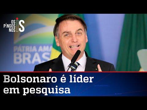 Bolsonaro lidera intenções de voto para 2022